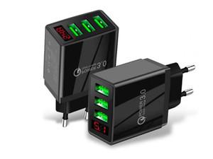 18W быстрый зарядка QC 3.0 PD Type C USB настенное зарядное устройство UU US UK Plug для iPhone 12 x 11 Samsung Android телефона
