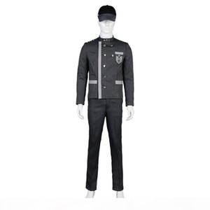 Danganronpa V3: Saihara Shuichi Uniform Outfit women men Cosplay Costume Christmas Sets Party Halloween Full Set costume