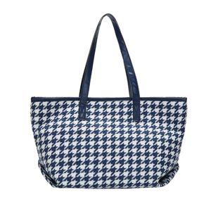 HBP Женская сумка на плечо высокой емкости PU кожаная сумка женские чистые ручная сумка складные многоразовые покупки путешествий сумки синий
