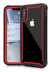 2 in 1 Hybrid Shockproof Phone Case Heavy Duty Armor Cases Back Cover Bracket For iPhone 11 12 PRO XR XS MAX Samsung S10 S20 MQ30