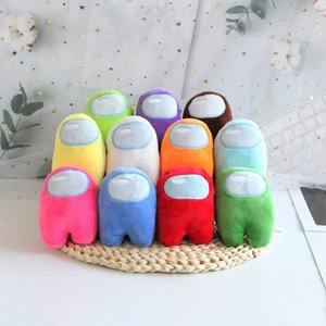 DHL ücretsiz biz arasında ücretsiz peluş oyuncaklar 10 cm yeni oyun bebek aranızda peluş oyuncak 13 renkler peluş sevimli bebekler doldurulmuş oyuncaklar