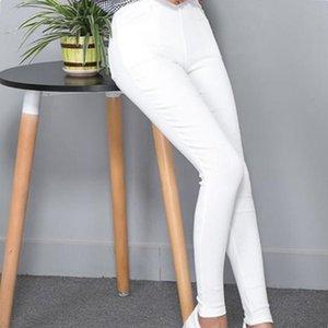 - Abbigliamento a molla FSDKFAA, pantaloni da donna stretti, grande 5XL,