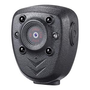 Envío gratis 1920x1080P grabador de video portátil con visión nocturna IR para la Policía 1080p Mini DV Cámara