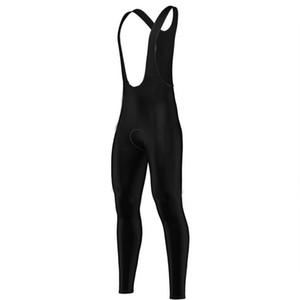 Cycling Bib Pants All Black Lycra New Bike Trousers Sports Wear 4-Way Stretch Material Ciclismo Ropa 9d Gel Pad Triathlon Pad