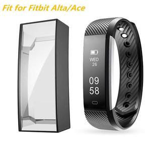 Custodia morbida TPU per Fitbit Alta / Fitbit ACE Copertura del paraurti Proteggi a schermo intero per Fitbit Alta / Fitbit ACE