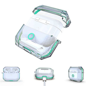 Transparent TPU Case for apple Air Pods Pro All Prevention for Airpod Protector with Retail Package Wholesale