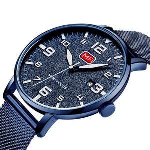Speicl Time 2020 Business Quartz Men's watches Top brand luxury Quartz watch sports wrist watch men mesh belt clock Relogio Masculino