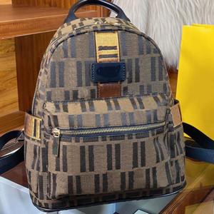 Zaino Borsa a tracolla Borsa in tela Moda di alta qualità Patchwork Color Zipper Lettera Borsa Donne Borsa interiore Zipper Spedizione gratuita