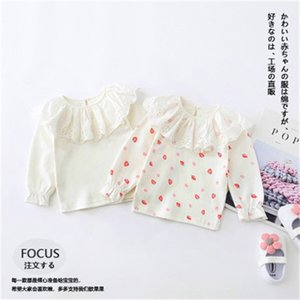 Baby Girl Cotton T Shirt 2020 Autumn Winter New Toddler Infant Kids Girls Long Sleeve Solid Cute T Shirt Baby Clothes 2-6 Years Z1119