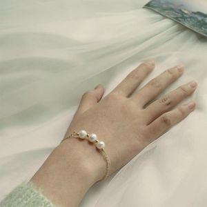 Lexie Diary 2021 Новая мода творческая простота натуральные пресноводные жемчужины браслет для женщин аксессуар ювелирных изделий