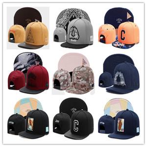 새로운 패션 Cayler 아들 Snapbacks 남성 여성의 야구 모자 모든 팀 골프 모자 힙합 조정 가능한 Snapback 야구 모자 모자 믹스 주문