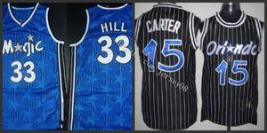 OrlandoMagicmen #15Vince Carter#33Grant Hill WhiteNBA Swingman Jersey