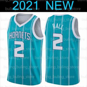 Lamelo 2 Ball Jersey Gordon 20 Hayward CharlotteHornets.Orleans.Pelicanos.Lonzo Zion 1 Williamson Ball Basketball Jerseys