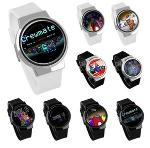 New Chinese and American watch trend fashion creative electronic student watch game character model touch screen LED light display