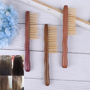 1pcs Natural Sandalwood Hair Comb Handmade Wooden Comb Detangling Wide Tooth New Design