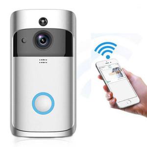 V5 Video Doorbell Smart IP-камера Wi-Fi Беспроводная безопасность Дверь телефона звонком камеры Visual Recording Home Monitor Doorbell LM0031