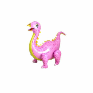 2020 New 1pc Large 4D Walking Dinosaur Foil Balloons Boys Animal Balloons Children Dinosaur Birthday Party Jurassic World Decor Balloon