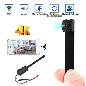 Mini Camera HD 4K 1080P Wifi IP Micro Camcorde Portable Wireless Module Video Recorde Support Remote View P2P Camera Hidden card 201204