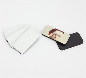 Soft frigorger Imas DIY Sublimação Blanks Ímã Home Decore Artes Tape Magnética Retângulo Circular HeartsHaped Nova Chegada 1 8bd M2
