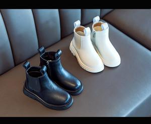 Bambini Inverno Martin Boots Bambini Short Flat Boot Boys and Girls Color Solid Color Martin Boots Caldo Esaurito Abbigliamento per bambini Scarpe casual casual vendita calda