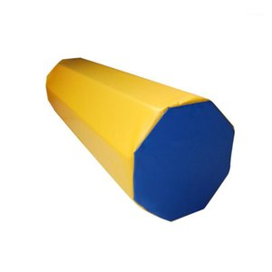 Gimnasia alfombra mezcla color pvc habilidad de habilidad desarrollo ejercicio gimnasio niños niños tumbling somersault octágono columna tumbler1