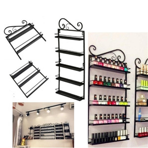 Parede Mouted Nail Polonês Acrílico Stand Syn Display Rack Titular Vernish Retall Z1123