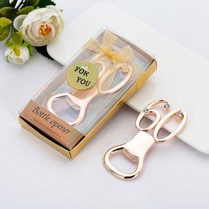 60ª Lembranças de Aniversário de Casamento Presente De Festa de Aniversário Para Guest Gold Digital 60 Garrafas Opener Free DHL AHD3153