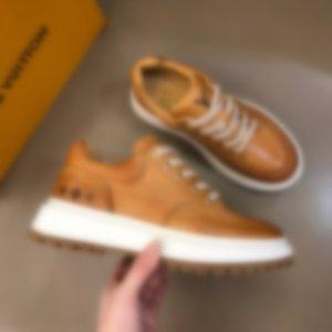 2020 남자 캐주얼제목LOUİSvuİtton.럭셔리 혼합 색상 LD Linda Della 수제 Moccasins 패션 사회 신발 A02