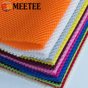 Meetee 100 300X150cm Three Layer Mesh Cloth Fabric DIY Sewing Sport Shoes Car Seat Cover Fabric 3D Breathable Sofa Bag Accessory