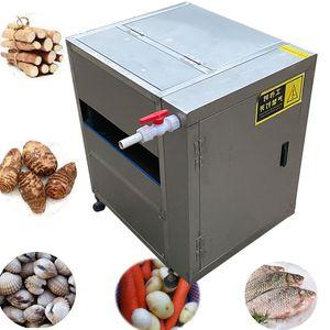 2021 Fabrik Directroot Gemüse Obst Ingwer Kartoffel Roller Peeler GemüseFruit Waschen Peeling Reinigungsmaschine 200kg / h