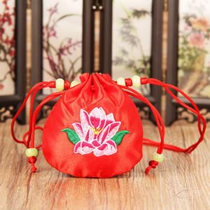 Embroidery sachet bag small bag empty bags of exotic sachets pocket cloth art sachets linen package small full kit