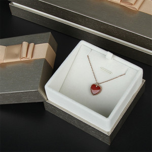 Wholesale caja de regalo caja de joya Día de San Valentín Día de San Valentín Anillo de joyería Collar Pulsera Colgante Caja de regalo Envío Envío por mar A12