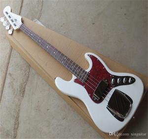 무료 배송 2021 New Arrival Custom Guitar Jazz Bass Guitar 4 Strings Natural Wood Bass Electric Guitar
