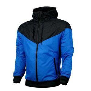 Hommes femmes concepteur veste manteau sweat-shirt de luxe sweat à capuche à manches longues d'automne Sports de fermeture à glissière brise-friseur de brise-vent hommes vêtements plus taille Sweats à capuche rr