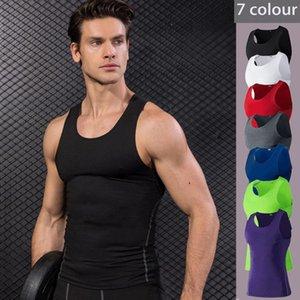 Lovmove man manga corta corriendo spandex tank top entrenamiento corriendo chaleco deportivo camisa masculina culturismo fútbol jersey gimnasio ropa