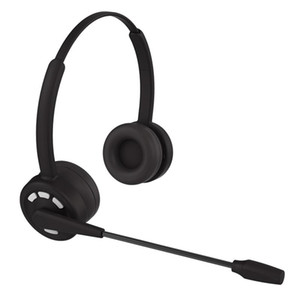 Wireless Telephony Headset Bluetooth 5.2 Headset Rechargeable Dedicated for Attendants