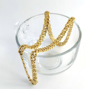 Cool MEN'S Thick Rounded Miami CURB Link Double 14 K Yellow Solid GOLD GF Choker Necklace Jewelry 10mm