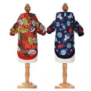 2020new Autumn And Winter Pet Clothing Cartoon Coats Keep Warm Dog Dog Clothes Funny Cat Dog Clothing bbyapK cxj_love