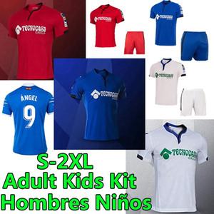 2020 2021 Getafe Club de Fútbol Camisetas Fussball Jerseys Angel Mata Maksimovic Cucurella Timor Männer Erwachsene Kinder Kits Football Hemden