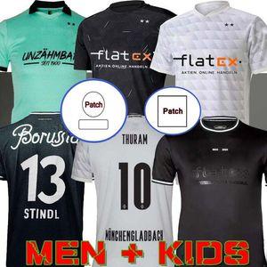 Männer Kinder 20 21 Mönchengladbach Fussball Jersey 120. Jubiläum Gladbach 2020 2021 Mönchengladbach Thuram Stindl Plea Wolf Football Shirt