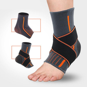 2 PCS Ankle Guard Ankle Pad Brace Sports Sports Support for Forceball Sprain - 무료 사이즈 (회색 및
