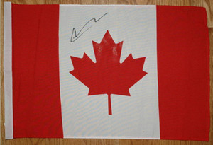 Lance Stroll Signed autographed AUTOGRAPH national Flag