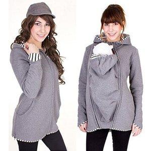 MODENGYUNMA Annelik Mont Kış Ceket Hamile Kadınlar için Giyim Uzun Kollu Katı Getirmek Çocuk Kıyafetler Giyim Ceketler J1208