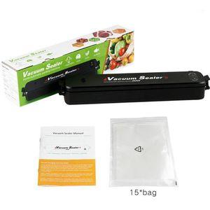 Вакуумная уплотнительная машина Mini Fresh Saver Home Kitchen Industry Full-автоматический вакуумный уплотнитель1