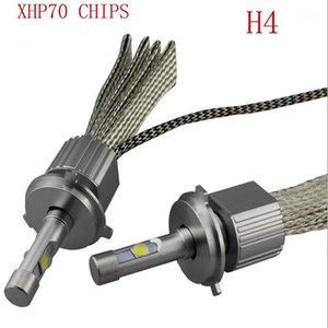 Toyikie 최신 110W 13200LM 크리 어 칩 XHP-70 LED 헤드 라이트 H4 H7 H8 / H9 / H11 9005 9006 자동차 LED 헤드 라이트 안개 램프 키트 1