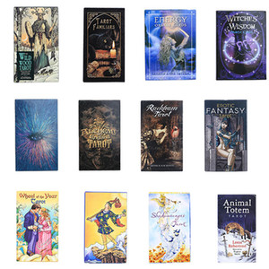 English Version Oracle Tarot Board Game Cards Light Seer's Guidance Divination Fate Party Deck