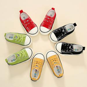 Babaya Children Canvas Boys 1-3 años de edad Niño Casual Primavera Otoño New Baby Girl Shoes LJ201104
