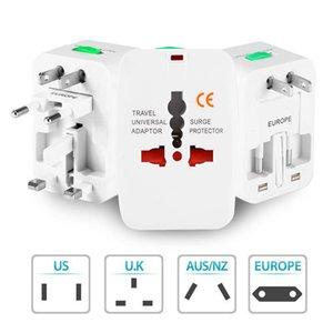 Electric Plug Power Socket Adapter International Travel Universal Socket Power Charger Converter EU UK US AU Option