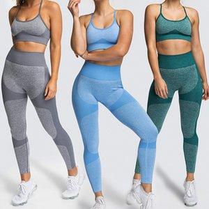 Leemiijuu Kadınlar Uyar Gereksiz Yoga Setleri Koşu Spor Salonu Broek Kuyruk Bantları Spor Tayt Yüksek Esneklik Beha