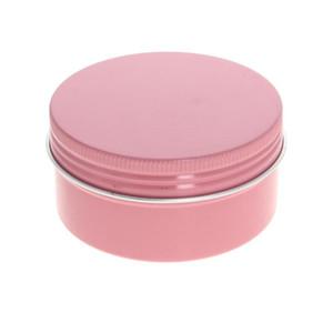 Aluminum Alloy Metal Airtight Container Bottom Cover Thread Mouth Thread Aluminum Box Candle Jar 68*35 52*20 65*50 35*18 42*18mm